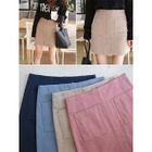 Dual-Pocket Pencil Skirt 1596