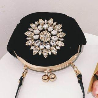 Embellished Velvet Handbag 1066459640
