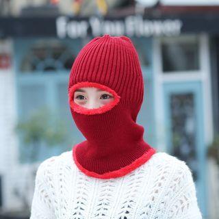 Knit Hat Face Mask