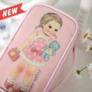 """Paper Doll Mate"""" Series Make Up Pouch - (M) 1048856313"""