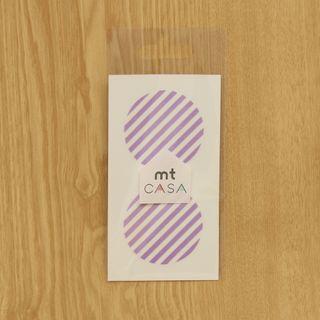 Stripe   Lilac   Tape   Mask