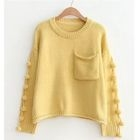 Fringe Trim Sweater 1596