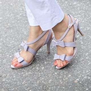 Buy STYLEKELLY Bow-Accent Strappy Sandals 1023011162