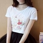Short-Sleeve Sequined T-Shirt 1596