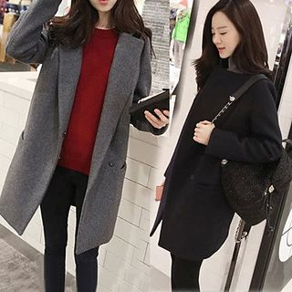 Notch Lapel Coat 1065329587