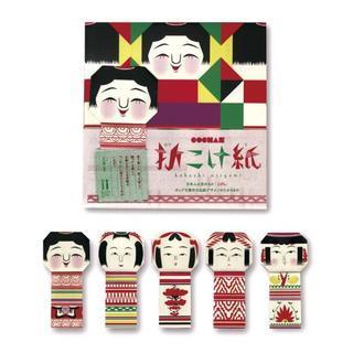 cochae: Kokeshi Origami Paper (5 Types x2 Sheets)