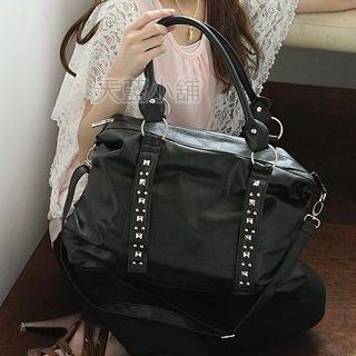 Buy SkyBlue Studded Shoulder Bag 1023037811