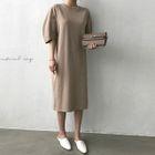 Puff-Sleeve T-Shirt Dress 1596