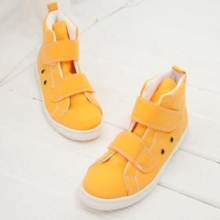 Picture of Cookie 7 Velcro High-Top Canvas Sneakers 1022348635 (Sneakers, Cookie 7 Shoes, Korea Shoes, Womens Shoes, Womens Sneakers)