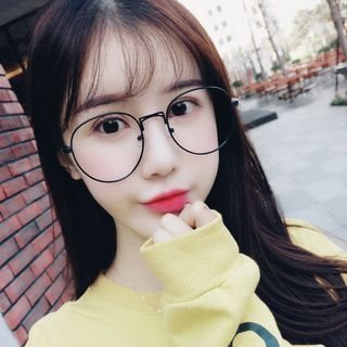 Oversized Round Glasses 1058295613