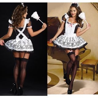 Maid Lingerie Costume 1053129946