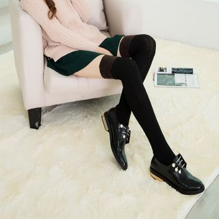 Cable Knit Thigh High Socks 1057481551