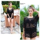 Set: Lace Bikini + Cover-Up Playsuit 1596