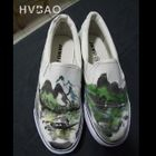 Painted Landscape Canvas Slip-Ons от YesStyle.com INT