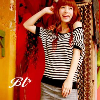 Buy Barbie Baigel Boatneck Banded Striped Top 1020472586