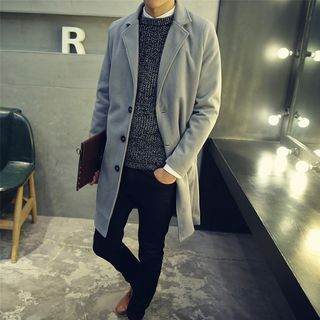 Notch Lapel Coat 1055125566