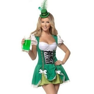 Beer Waitress Party Costume 1062153034