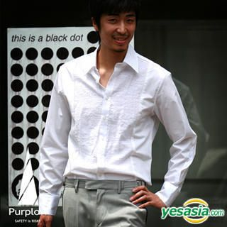 Picture of Purplow Basic Jacquard Shirt 1004720212 (Purplow, Mens Tees, Korea)