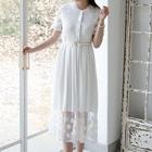 Lace Maxi Dress 1596