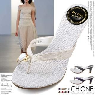 Buy Chione Bejeweled Toe-Loop Thong Sandals 1022835459