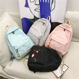 Backpack | Canvas | Charm