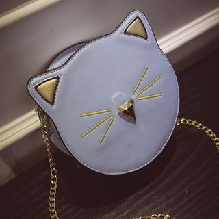 Image of Cat Chained Crossbody Bag