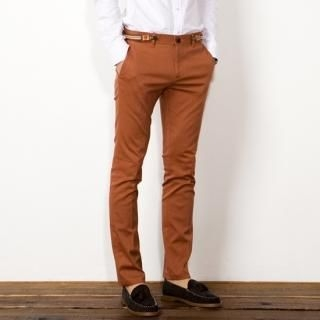 Cotton Pants with Suspender