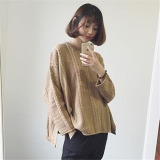 Rib Knit Sweater 1062304917
