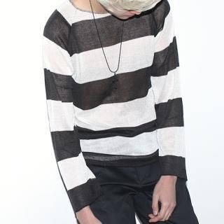 Buy REENO Thick Striped Knit Top 1022433118
