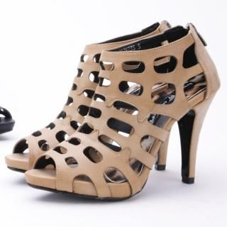 Buy Secret;BB Platform Cut-Out Ankle Boots 1022898475