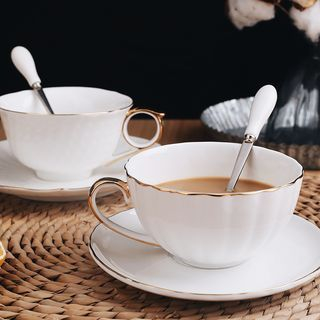 Set: Coffee Cup + Saucer 1063464989