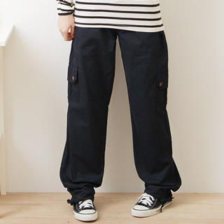 Picture of F-DNA Drawstring Cargo Pants 1022882000 (Womens Drawstring Pants, Womens Cargo Pants, F-DNA Pants, Taiwan Pants)