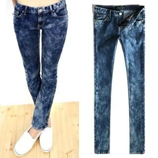 Picture of Bluemint Washed Blue Jeans 1021207580 (Bluemint Pants, South Korea Pants)