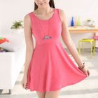 Sleeveless Skater Dress 1596