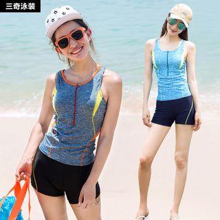Set: Swim Tank Top + Swim Shorts 1057589790