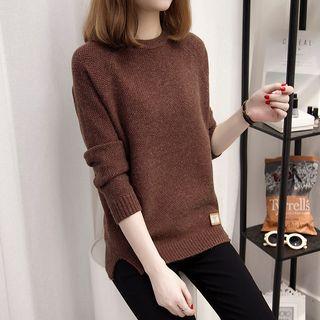 Slit-Hem Sweater 1056247834