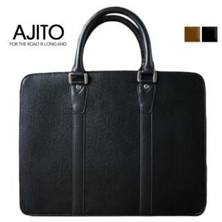 Picture of AJITO Faux-Leather Briefcase 1023042974 (AJITO, Briefcases, Korea Bags, Mens Bags, Mens Briefcases)