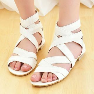 Buy KAWO Cross-Strap Sandals 1022917122