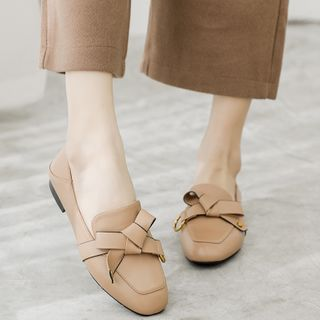 Image of Ribbon Bow Loafers