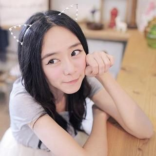 "Cat-Ear"" Hair Band Silver - One Size"