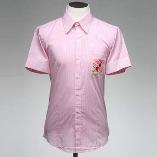 Buy Style YOURS Embroidered Short-Sleeve Stripe Shirt 1022571227