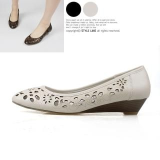 Picture of STYLE LINE Punched Wedge Flats 1022491659 (Flat Shoes, STYLE LINE Shoes, Korea Shoes, Womens Shoes, Womens Flat Shoes)