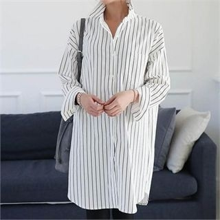 Striped Long Shirt 1055647956