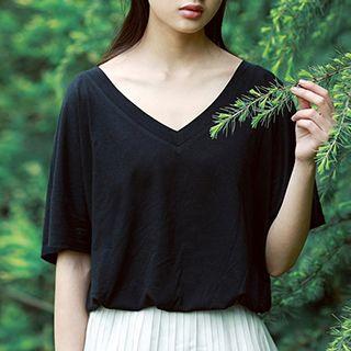 V-neck Short-Sleeve T-shirt 1051535844
