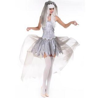 Corpse Bride Party Costume 1053413589
