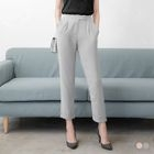 Pleated Fitted Trousers 1596