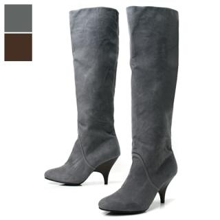 Buy Shoes by B Faux-Suede Calf Length Boots 1022713003
