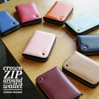 "Crown"" Series Zip-Up Wallet - (S) 1596"