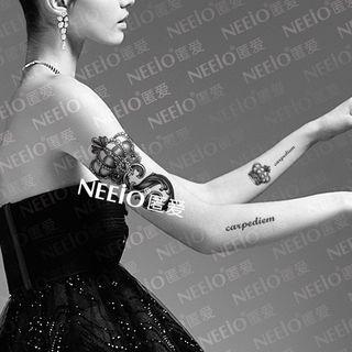 Waterproof Temporary Tattoo 1 sheet