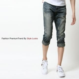 Buy Yellow Jacket Denim Capri Jeans 1022792419